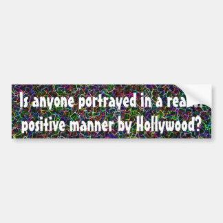 Hollywood hates everyone bumper sticker