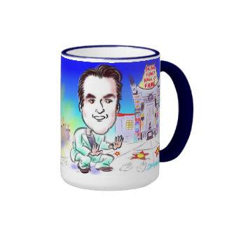 Hollywood Hedge Fund Caricature Mug