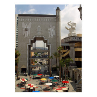 Hollywood Highland Shopping Center In Los Angeles Postcard