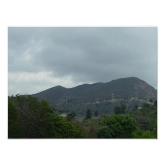 Hollywood Hills 1 Poster