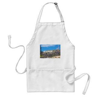 hollywood hills adult apron