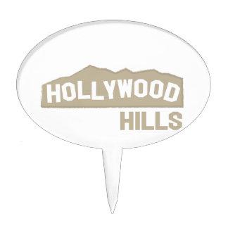 Hollywood Hills Cake Topper