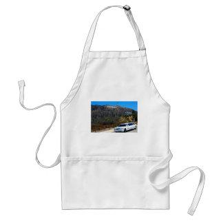 Hollywood hills, California Adult Apron