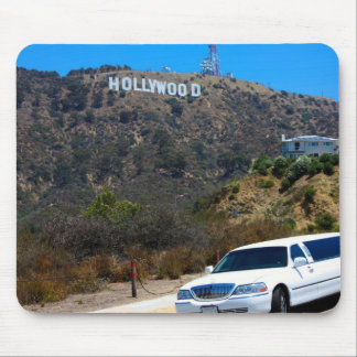 Hollywood hills, California Mouse Pads
