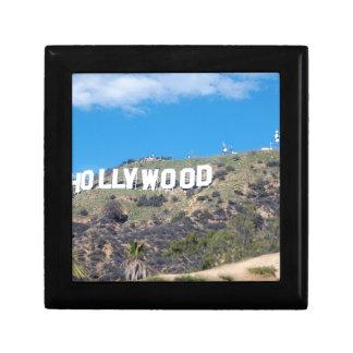hollywood hills keepsake box