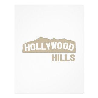 Hollywood Hills Plantillas De Membrete