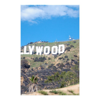 hollywood hills stationery