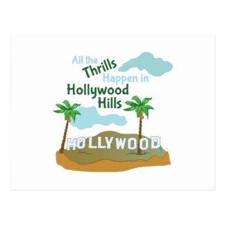 Hollywood Hills Postales