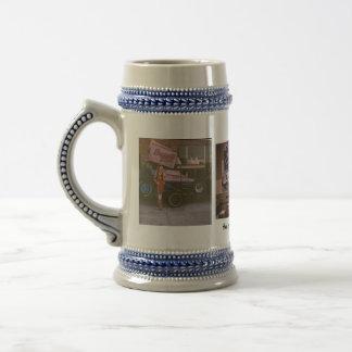 Hollywood Jett Starr Racing Stein Coffee Mugs