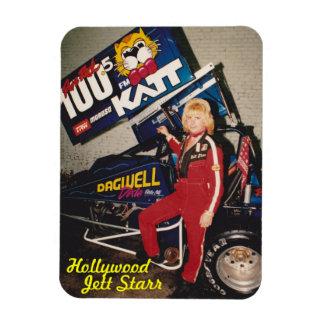 Hollywood , Jett Starr Rectangular Photo Magnet