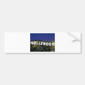 hollywood.jpg bumper sticker