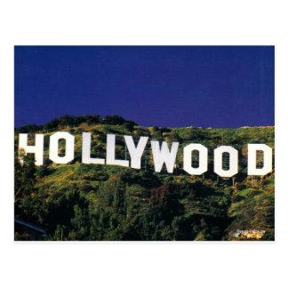 hollywood.jpg tarjeta postal