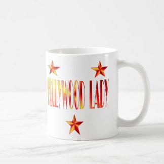 hollywood lady coffee mug