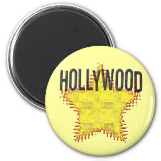 Hollywood Magnet! 2 Inch Round Magnet