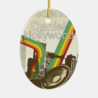 Hollywood Merchandise Ceramic Ornament