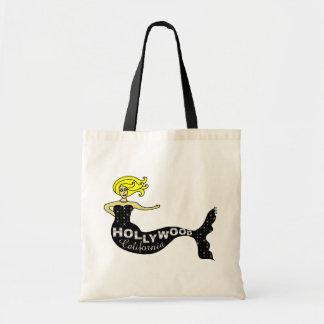 Hollywood Mermaid Tote Bags