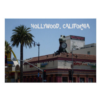 HOLLYWOOD MONSTER poster