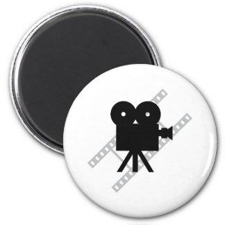 hollywood movie cine camera film magnet
