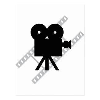 hollywood movie cine camera film postcard