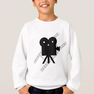 hollywood movie cine camera film sweatshirt