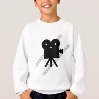 hollywood movie cine camera film sweatshirt