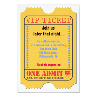 HOLLYWOOD MOVIES Themed Bar Bar Mitzvah Party Card Personalized Invites