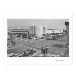 Hollywood, opinión de CA de la ciudad de radio y Tarjetas Postales