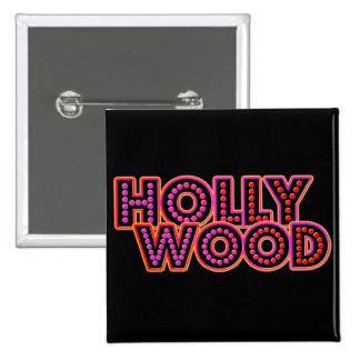 Hollywood Pin Cuadrada 5 Cm