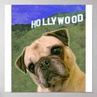 Hollywood PUG Poster