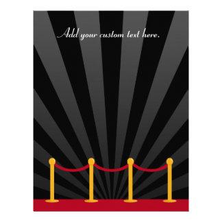 Hollywood Red Carpet Custom Letterhead