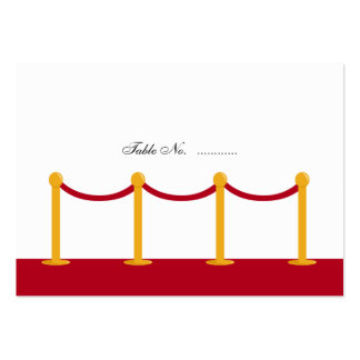 Hollywood Red Carpet Place Cards
