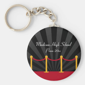 Hollywood Red Carpet Prom Formal Favor Keychain