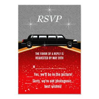 Hollywood Red Carpet RSVP Template