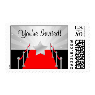 Hollywood Red Carpet Star Silver Postage