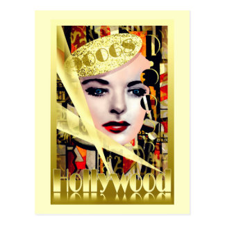 Hollywood Retro Vintage Style Postcards