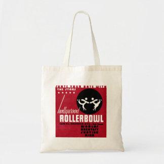 Hollywood Rollerbowl Tote Bag