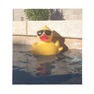 Hollywood Rubber Duckie Notepad