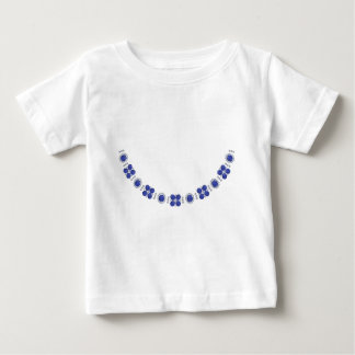 Hollywood Sapphire Glamour Necklace Baby T-Shirt