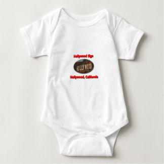 Hollywood Sign Baby Bodysuit