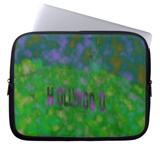 HOLLYWOOD sign Laptop Sleeve