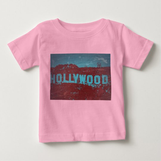 Hollywood sign Los Angeles Baby T-Shirt