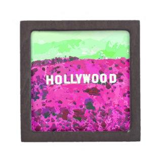 Hollywood Sign Los Angeles California Gift Box