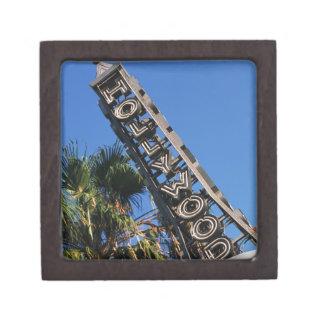 Hollywood sign, Los Angeles, California Gift Box