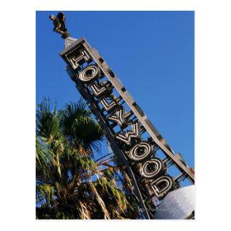 Hollywood sign, Los Angeles, California Postcard
