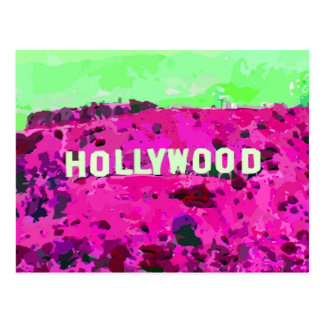 Hollywood Sign Los Angeles California Postcard