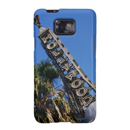 Hollywood sign, Los Angeles, California Samsung Galaxy SII Case