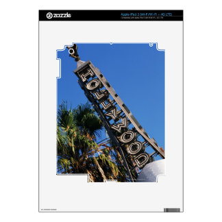 Hollywood sign, Los Angeles, California Skins For iPad 3