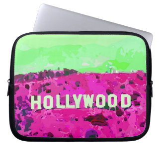 Hollywood Sign Los Angeles Computer Sleeve