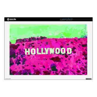 Hollywood Sign Los Angeles Decals For Laptops