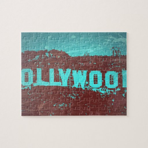 Hollywood sign Los Angeles Jigsaw Puzzle